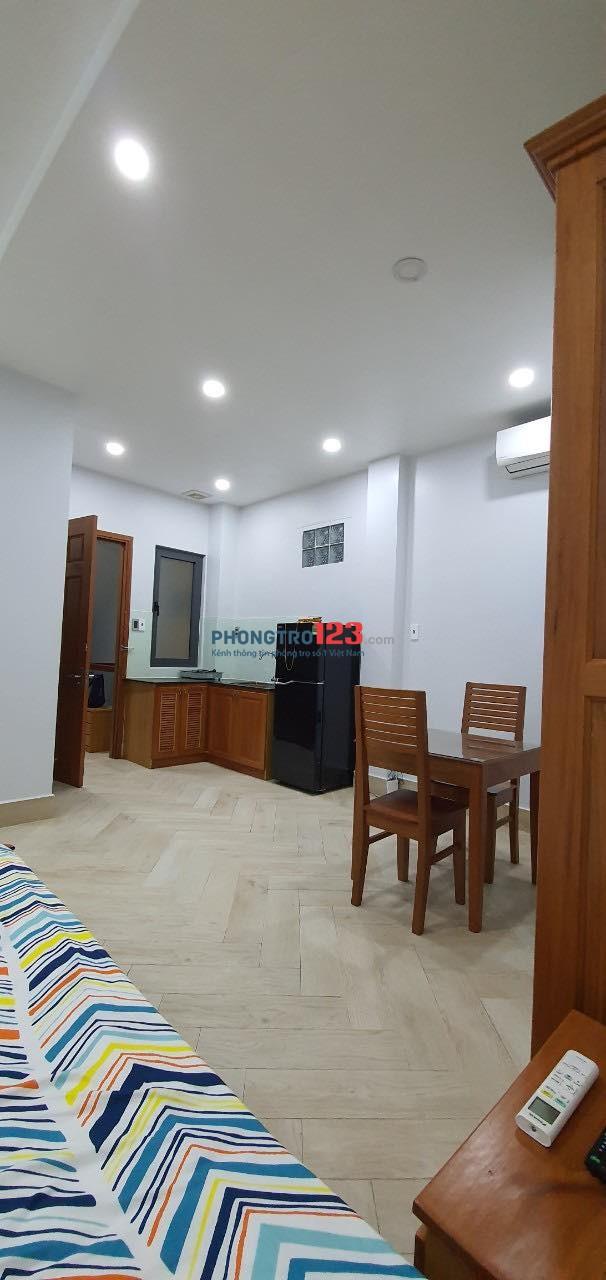 Cho thuê phòng full nội thất, mặt tiền Nguyễn Văn Đậu, 40m2
