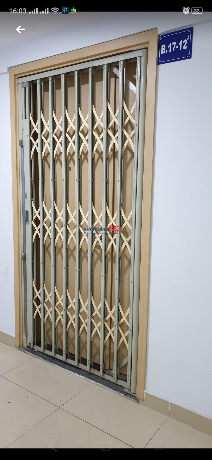 Cho thuê Căn hộ chung cư Oriental Plaza (Âu Cơ Tower) 79m² 2PN có nội thất giá 11tr/tháng