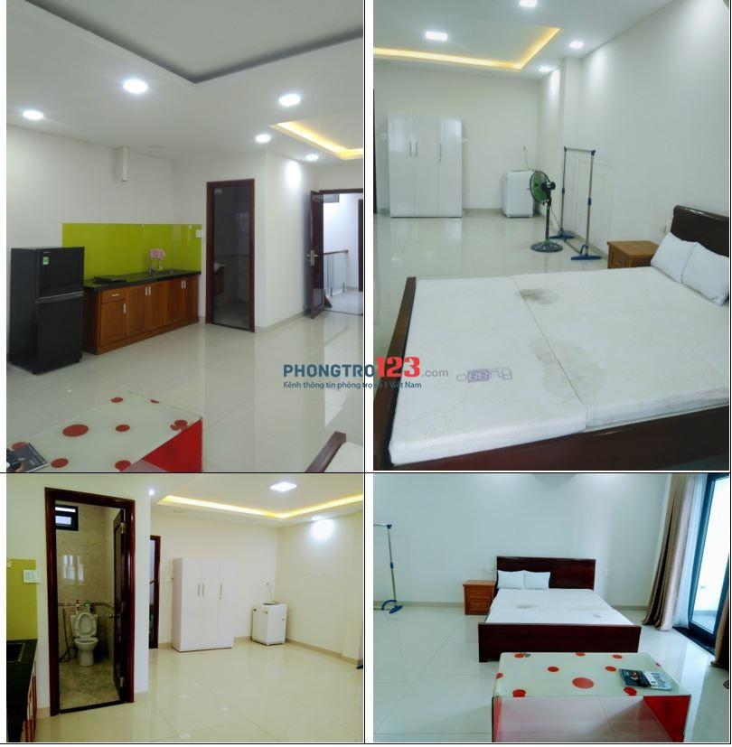 Căn hộ mới, full nội thất, trung tâm TP, giá 3,0 triệu/tháng