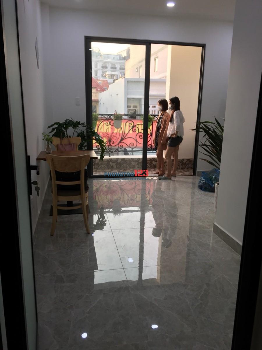 Tìm nữ ở ghép giá 1 triệu 8 mới hoàn toàn, sạch sẽ thoáng mát, gần Metro An Phú