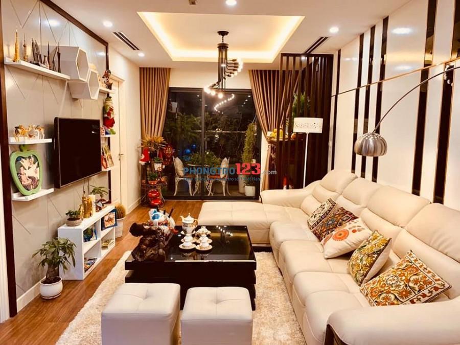 (0392947519) Cho thuê chung cư Golden Land, 111m2, 3PN, Full nội thất giá thuê 14 triệu/tháng.