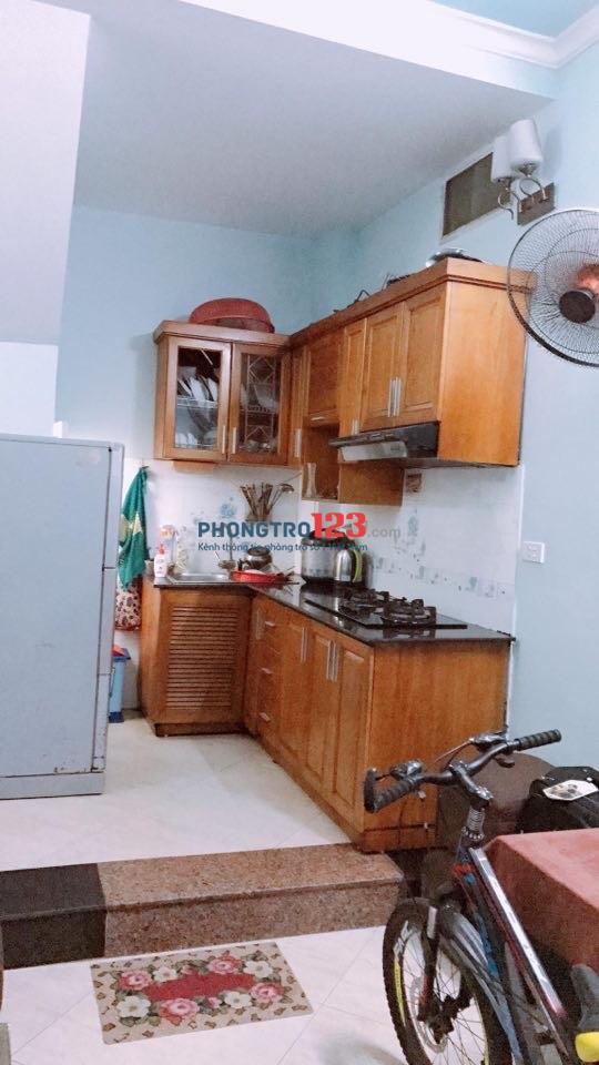 Chính chủ cho thuê nhà nguyên căn 25m2, 4 tầng, Nguyễn Đức Cảnh, Miễn trung gian