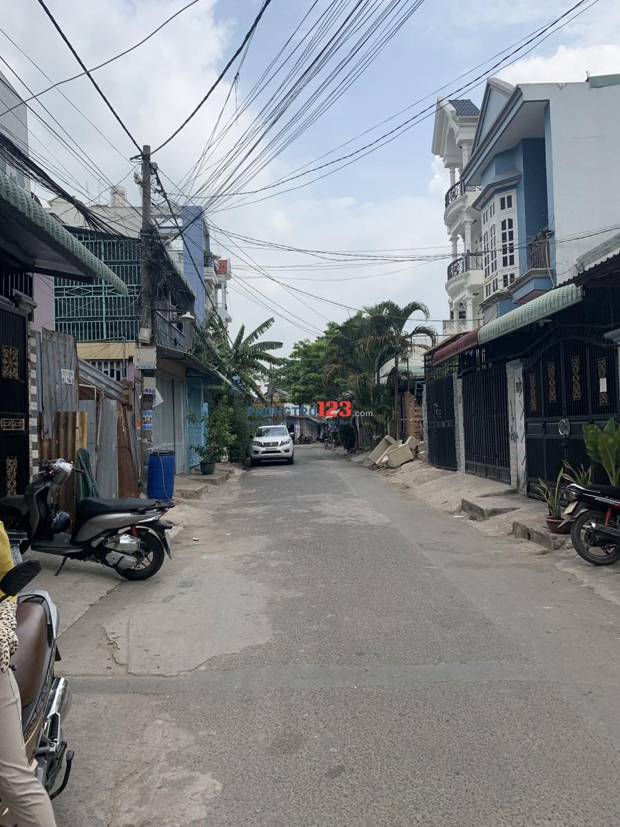 Hẻm 6m Bình Long_nhà mới 4x15m_1L_giá rẻ 9.5tr_Q Tân Phú