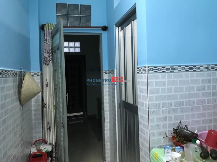 Phòng trọ 35m2, 1PN bên cạnh CV Lê Thị Riêng