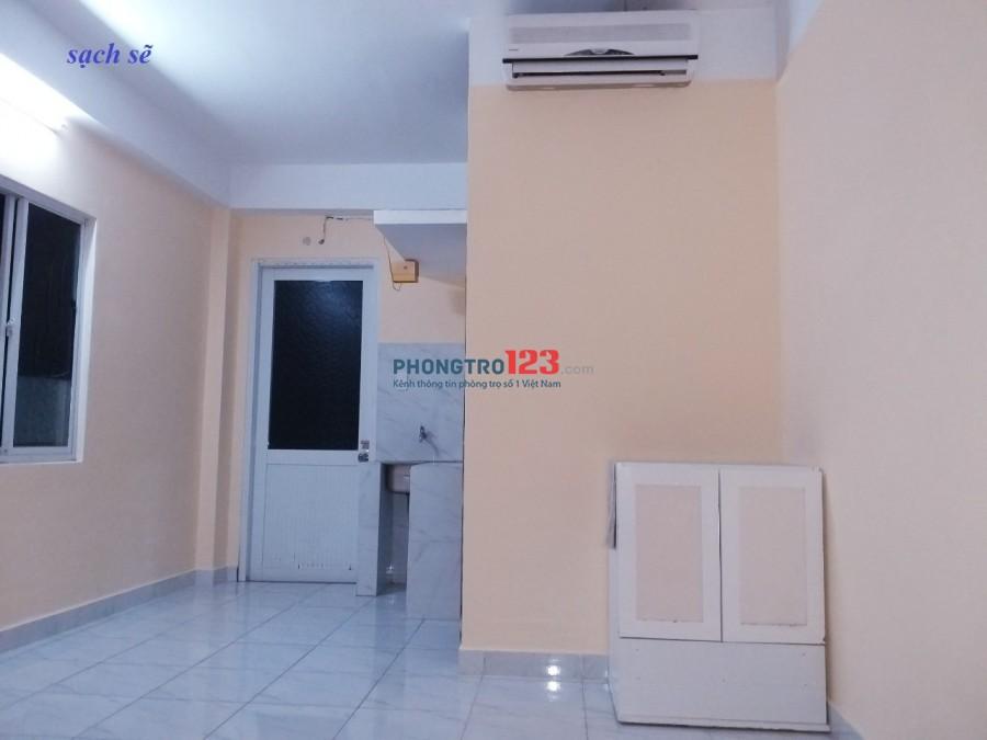 Phòng trọ Q7 có máy lạnh 16m2 giá 2,6 tr