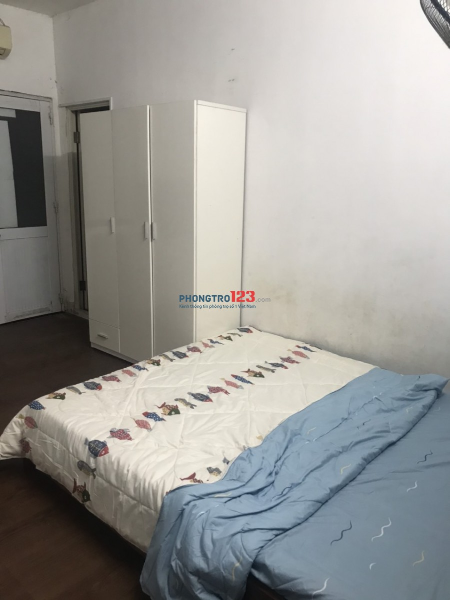 Cho thuê phòng 25m2 ở Phổ Quang, gần sân bay, wc riêng, giờ tự do, chính chủ
