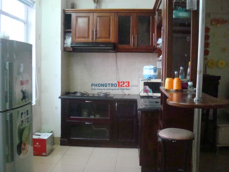 Cho thuê Căn hộ Chung cư Him Lam Nam Sài Gòn KDC Trung Sơn 2PN