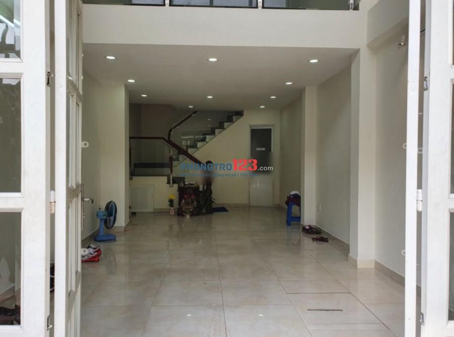 Cho thuê mặt bằng văn phòng 4x10m 1 trệt 1 lửng nhà mặt tiền 17 Mai Lão Bạng P13 Q Tân Bình