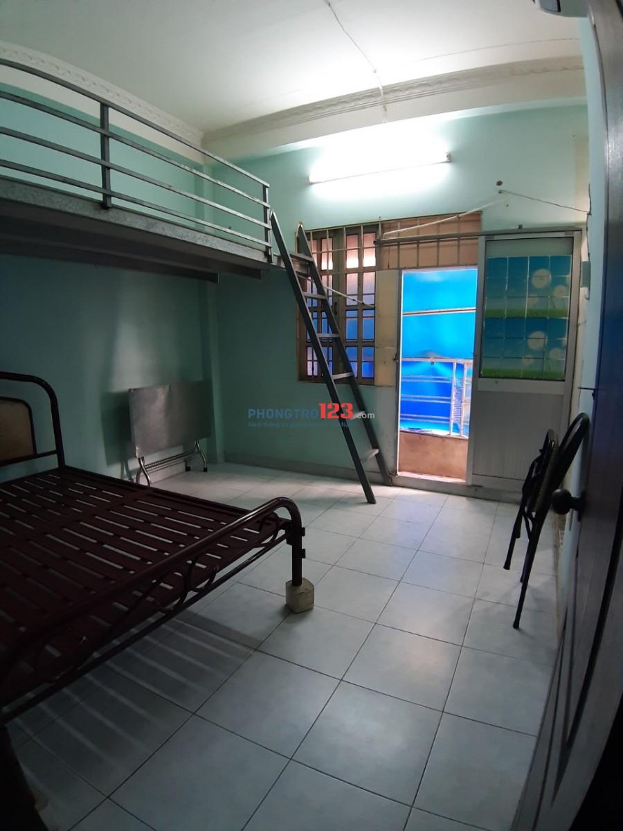 Phòng trọ có máy lạnh, đường Dương Quảng Hàm, Gò Vấp 2.3tr/ tháng