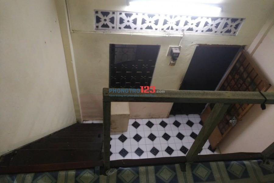 Cho thuê phòng trọ Chu Văn An, Bình Thạnh, có bếp, gửi xe, toilet riêng