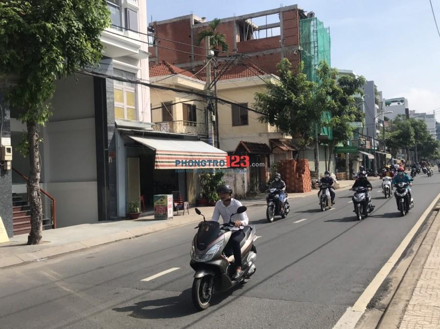 Cho thuê nhà nguyên căn mới xây 1 trệt 1 hầm 5 lầu có 12 phòng mặt tiền 369 Tân Sơn Q Tân Bình