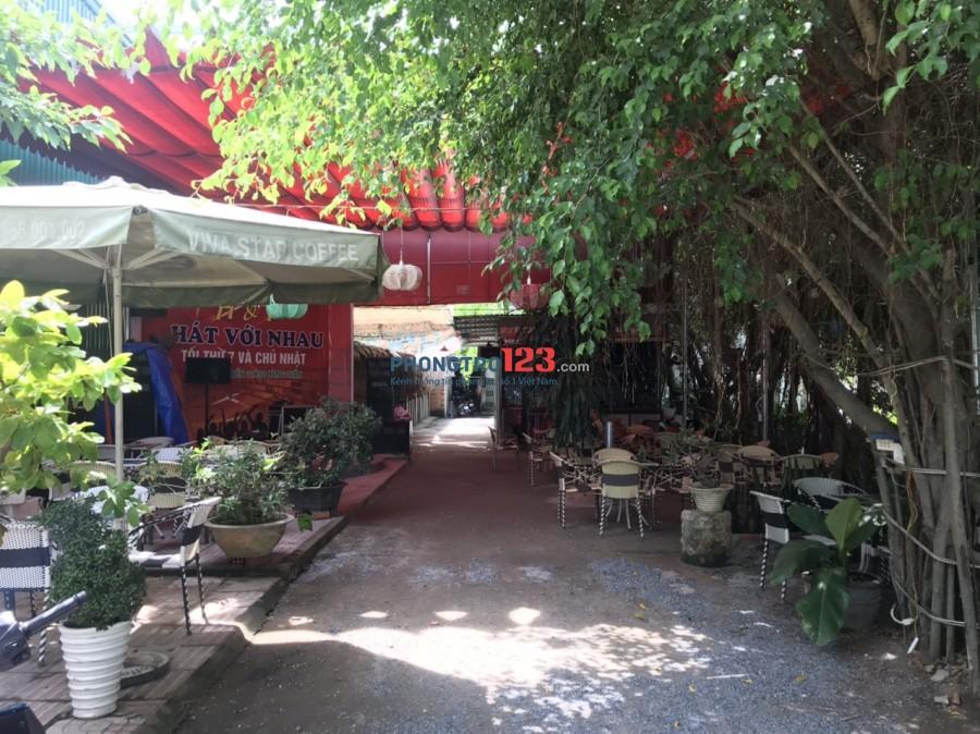 Cần sang mặt bằng quán Cafe sân vườn 600m2 mặt tiền 67 Trường Lưu P Long Trường Q9