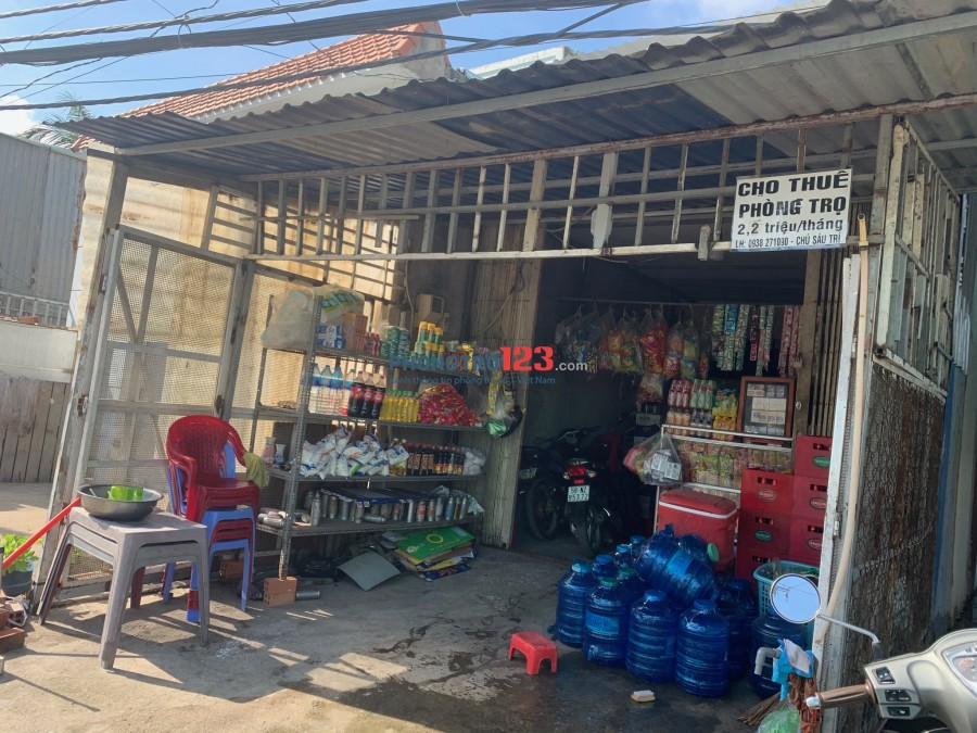 Cho thuê nhà trọ tiện nghi, giá rẻ tại Tân Liêm, Xã Phong Phú, Huyện Bình Chánh
