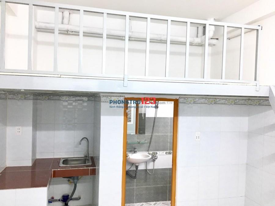 Cho thuê phòng trọ mới xây có gác máy lạnh nhà mặt tiền 168G Lưu Hữu Phước P15 Q8 giá 3,5tr/th