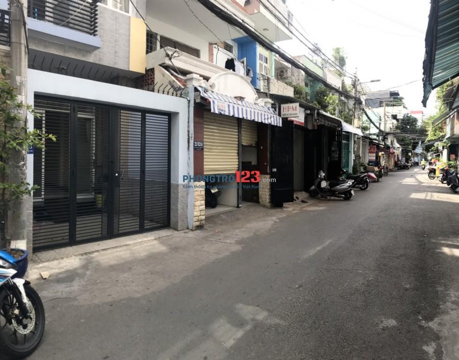 Cho thuê nhà nguyên căn 3,5x18 1 trệt 2 lầu hẻm xe tải số 2/126 Thiên Phước P9 Q Tân Bình