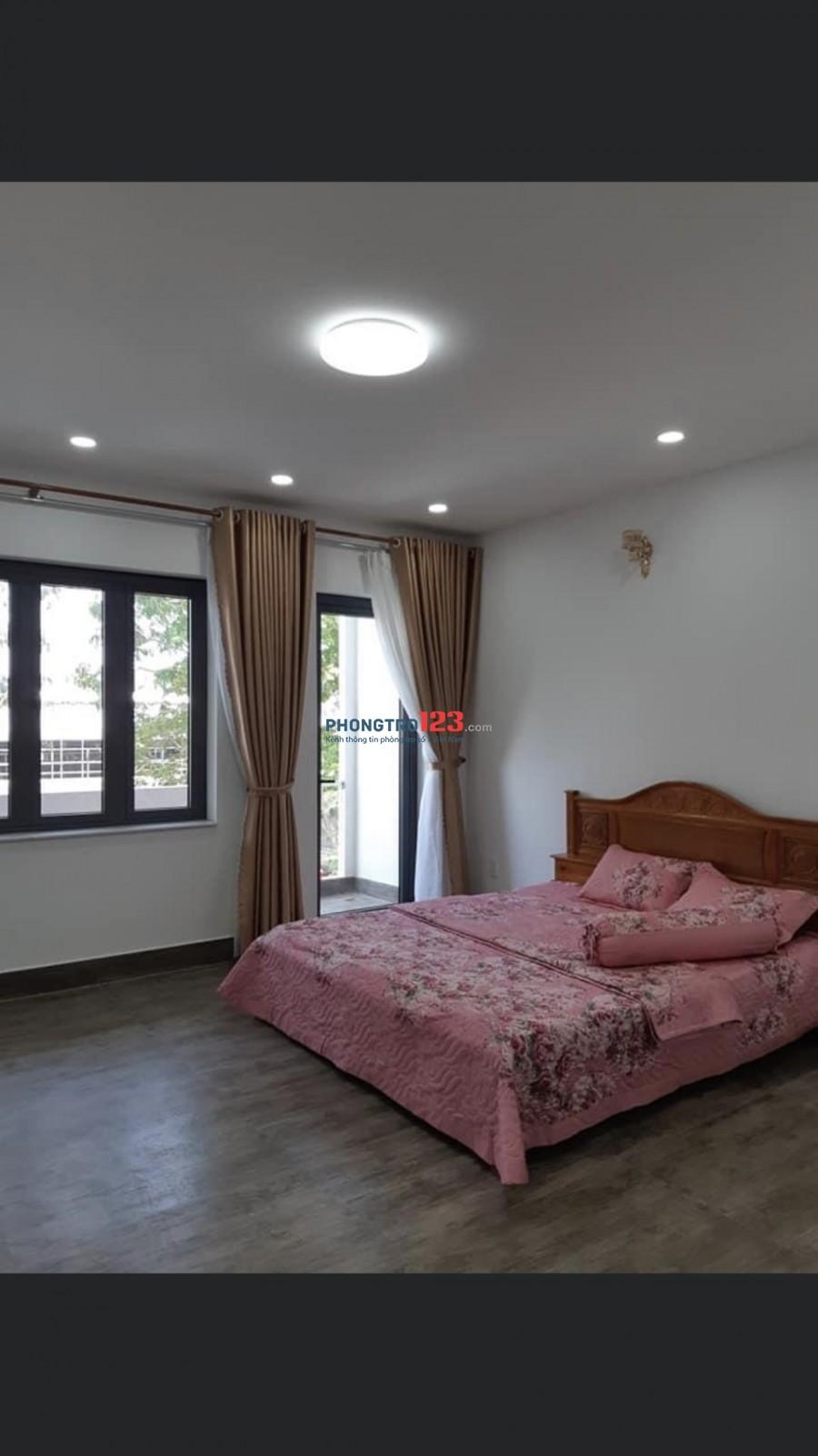 Cho thuê nhà mới nguyên căn 1 trệt 4 lầu có nội thất HXH 1056 Hà Huy Giáp P Thạnh Lộc Q12