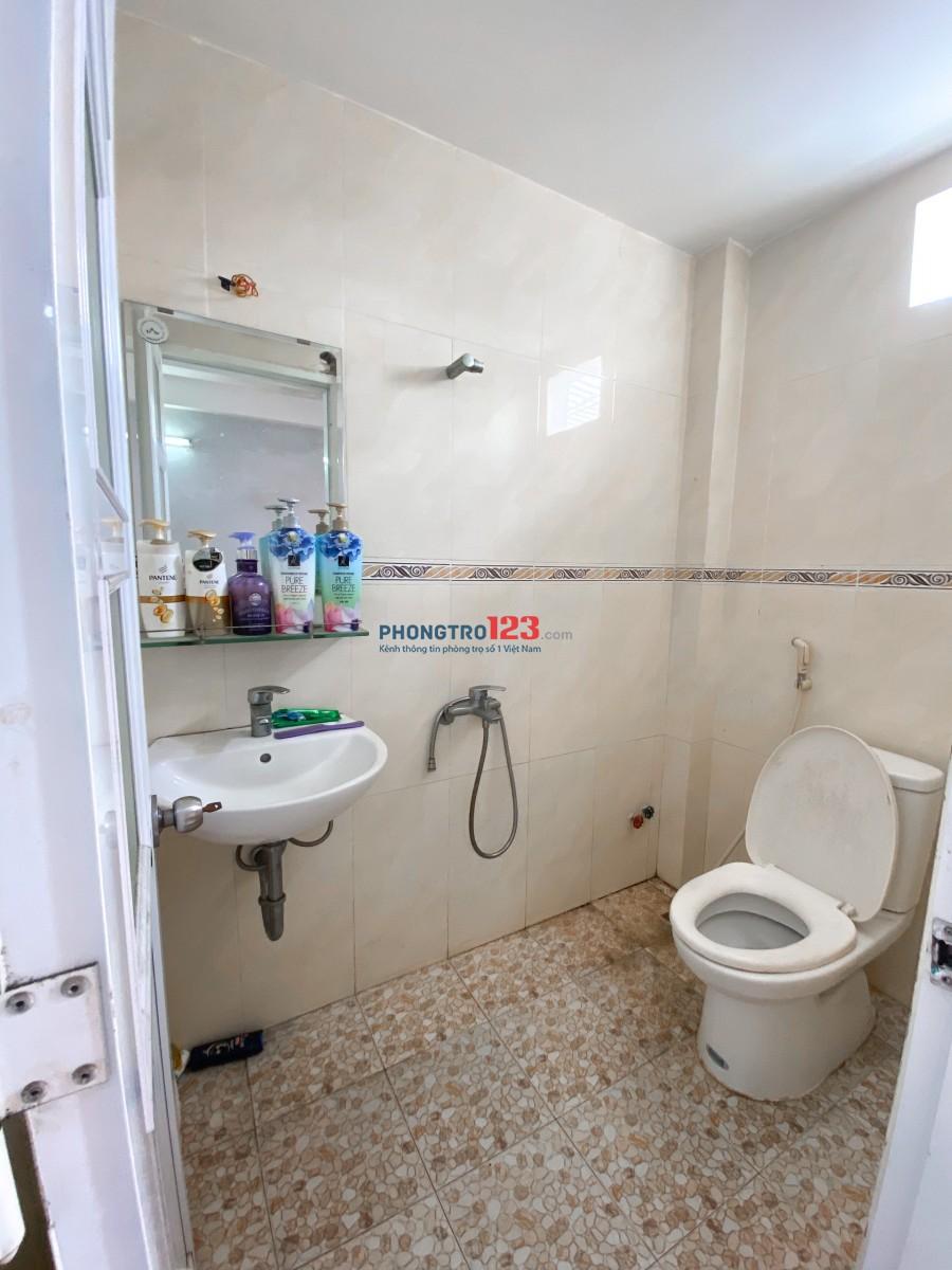 Cho thuê phòng rộng rãi, thoáng mát, có nhà vệ sinh riêng