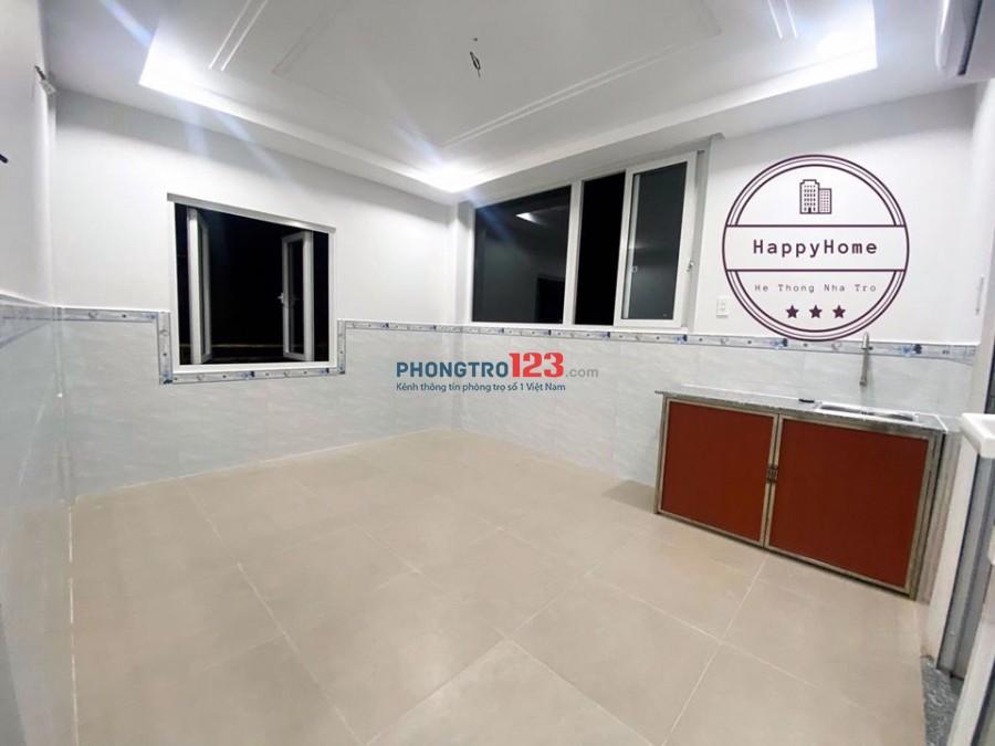 Phòng trọ mới xây rộng 30m vuông nội thất cơ bản máy lạnh tân sơn gò vấp