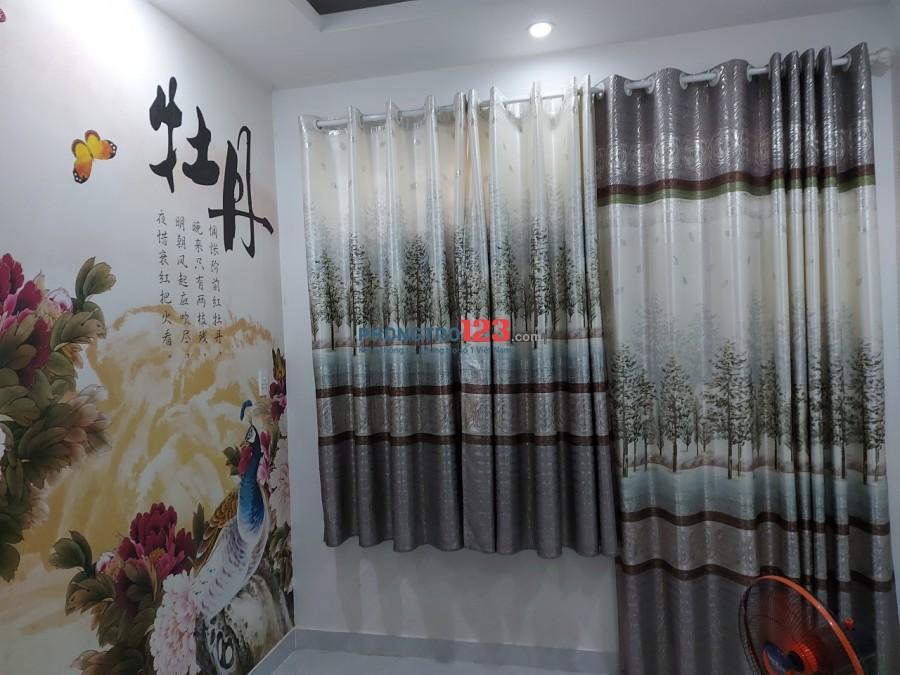 Cho thuê phòng mới có máy lạnh wc riêng tại 32 đường số 19 P4 Q4 giá 3,8tr/tháng