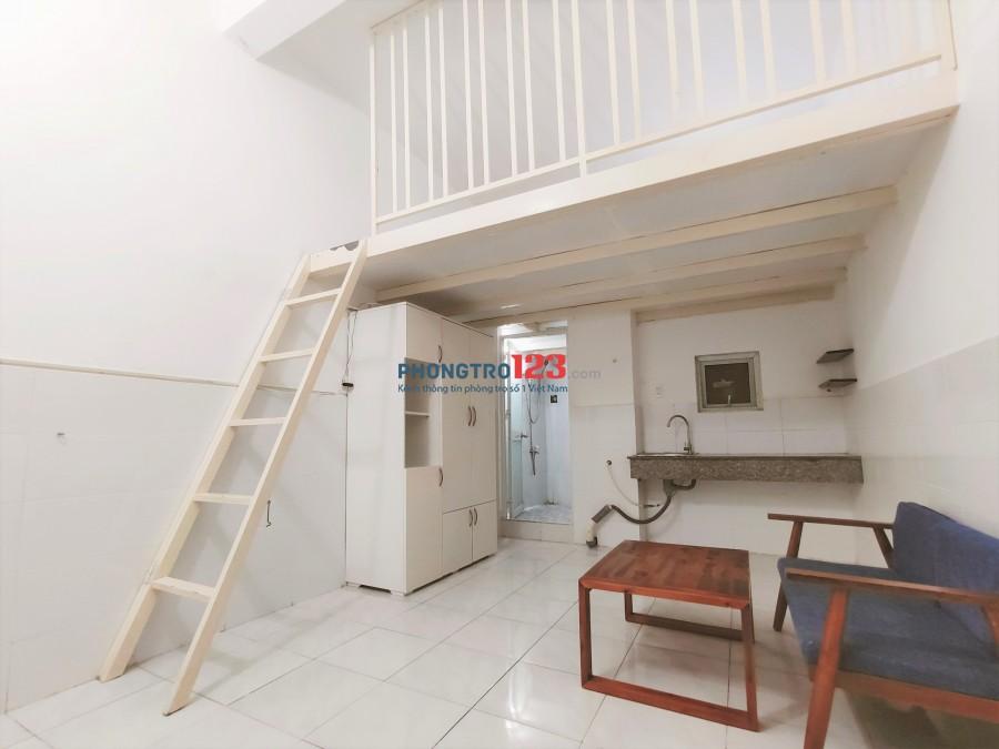 Phòng trọ có gác đường Nguyễn Sỹ Sách, Tân Bình
