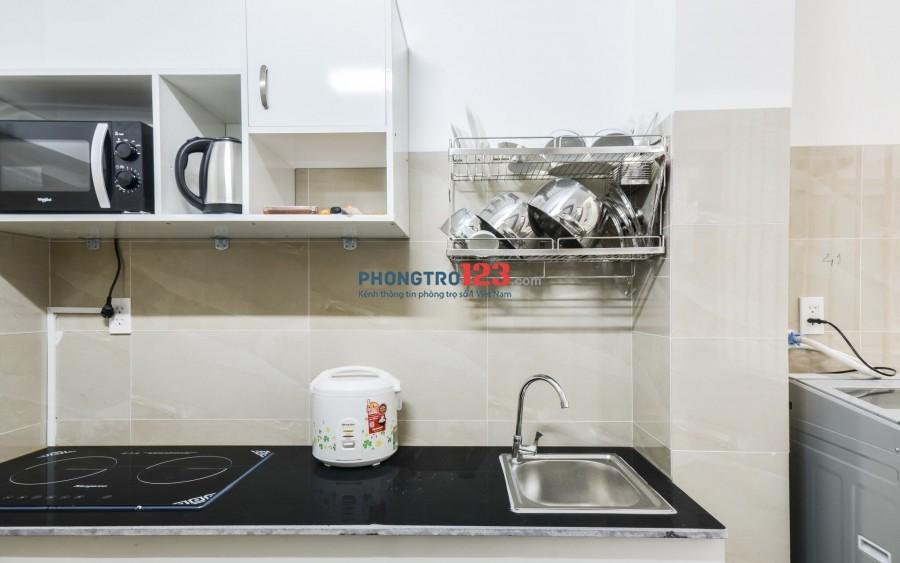 Cho thuê căn hộ mini 1 phòng ngủ riêng, full nội thất, ở ngay !