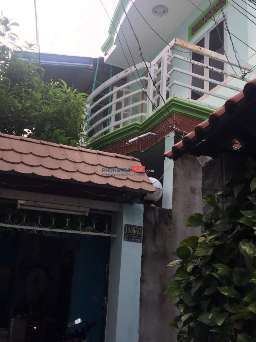 Nhà 1 trệt, 1 lầu 40m2 khu yên tĩnh không ngập cần tìm gia đình thuê ở ổn định