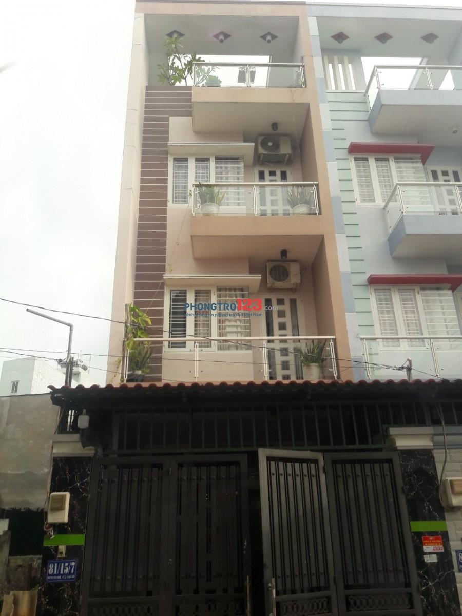 Chính chủ cho thuê căn hộ mini mới đầy đủ nội thất giá rẻ tại Trường Chinh P15 Q Tân Bình