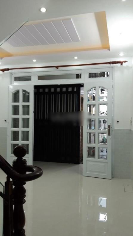 Cho thuê hoặc bán nhà 1 trệt 2 lầu 3pn mặt tiền đường Bàu Cát 8 P11 Q Tân Bình