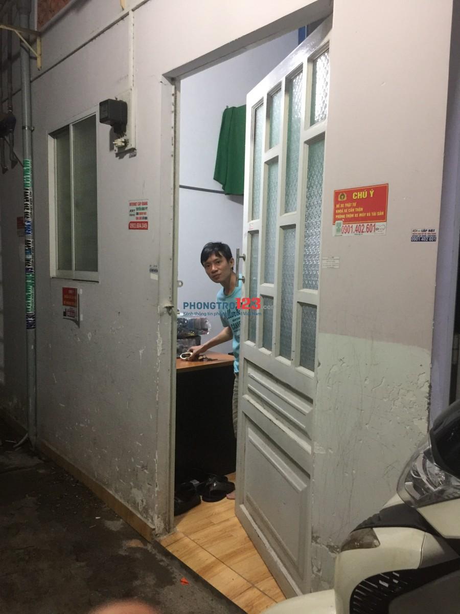 Phòng trọ cho thuê theo tháng tại đường Lê Liễu