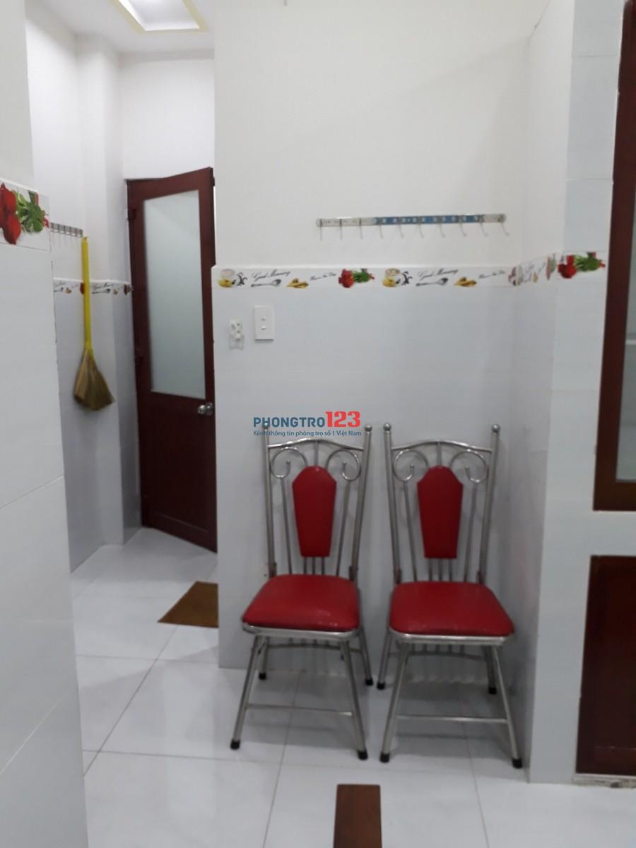 Cho thuê phòng trọ mặt tiền Nguyễn văn quá, Quận12
