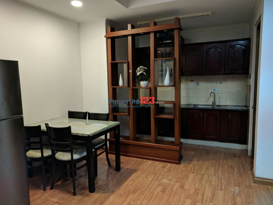 Cho thuê căn hộ trung tâm Q.3, đầy đủ tiện nghi