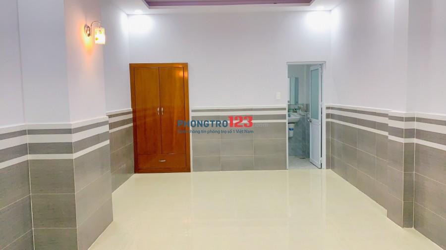 Cho thuê phòng Mặt Tiền 572 Phạm Văn Chiêu chợ Thạch Đà có máy lạnh, thang máy, full tiện ích