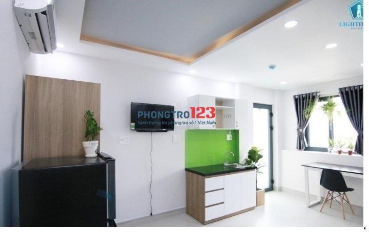 Căn hộ Studio Q10: Full nội thất, thang máy, 30m2