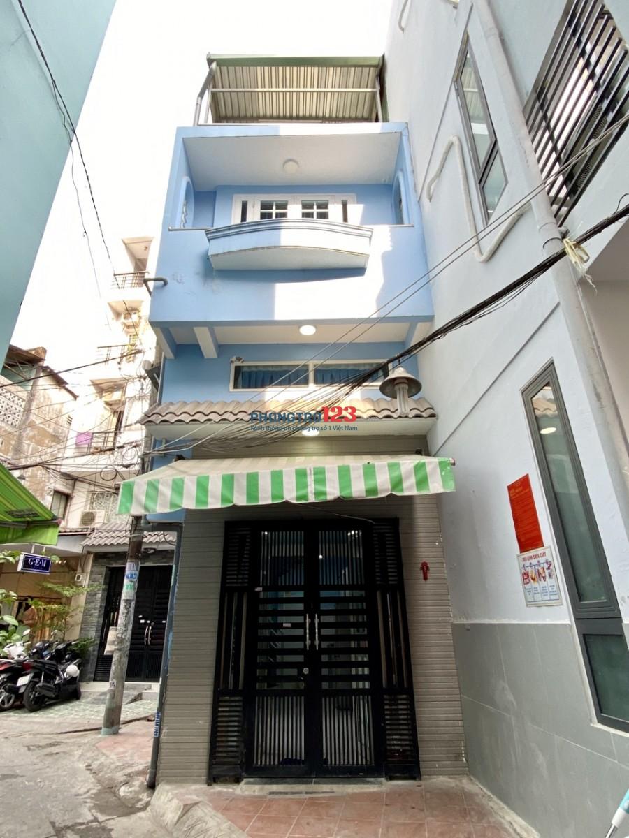 Nhà hẻm xe hơi 1 phòng khách, 1 nhà bếp, 2 phòng ngủ, 3 wc, sân thượng