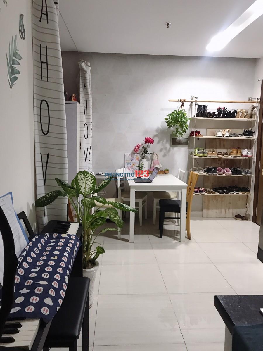 Cho thuê căn hộ full nội thất chỉ 6.5tr/tháng, view ban công riêng thoáng mát, Đường Hoàng Hoa Thám, Tân Bình