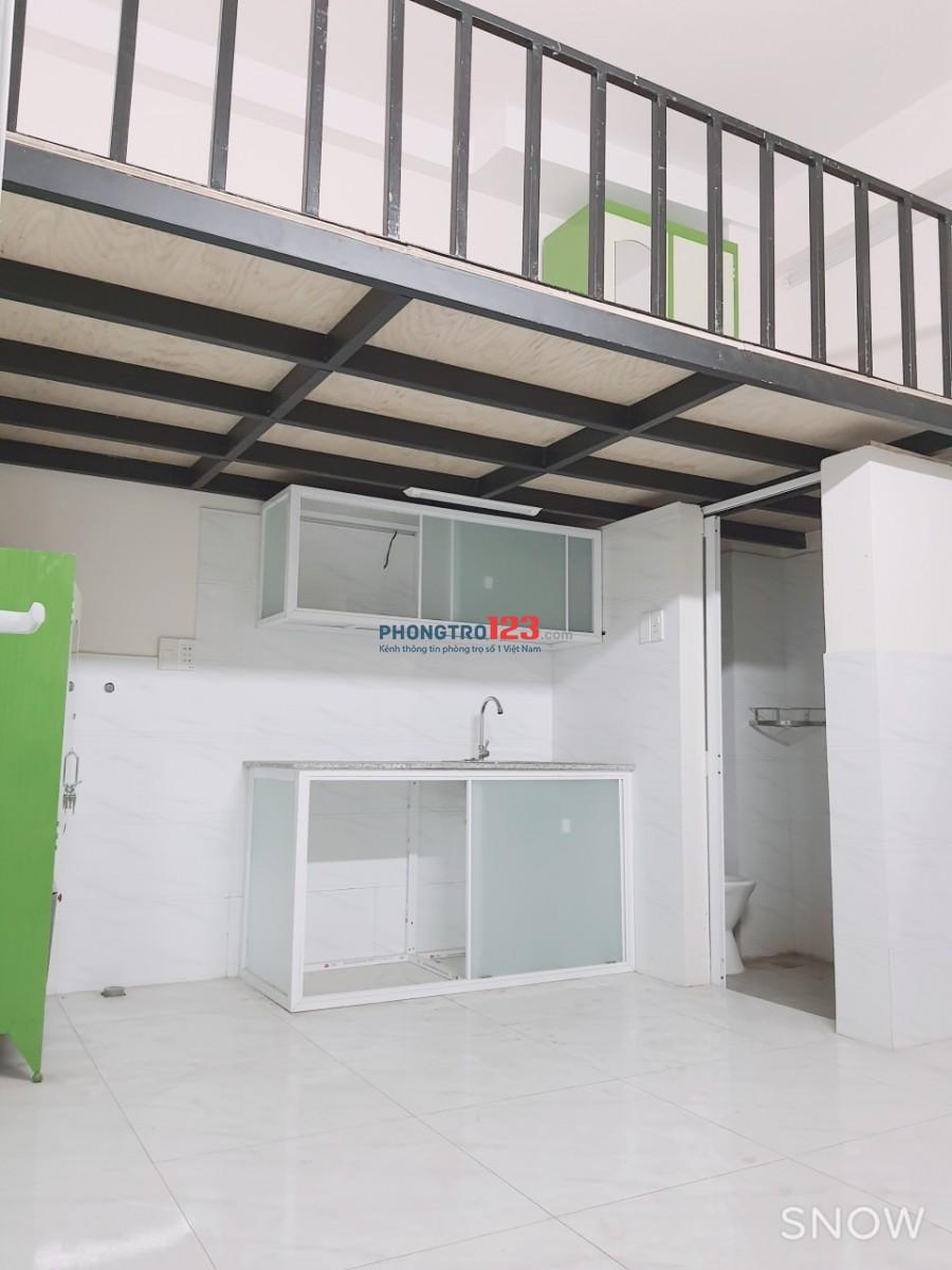 Cho thuê phòng có máy lạnh trong nhà nguyên căn mới xây tại Lê Đức Thọ Gò Vấp
