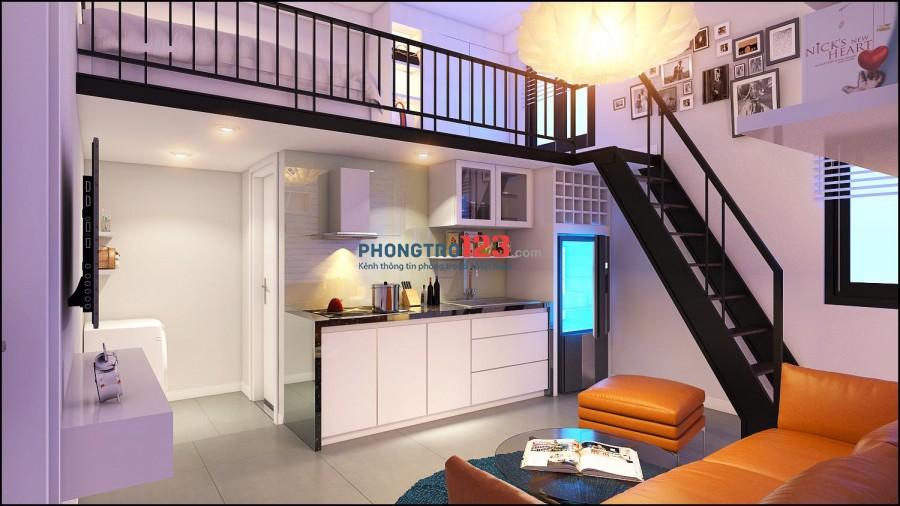 Phòng trọ full nội thất có gác mới xây ngay Tân Bình