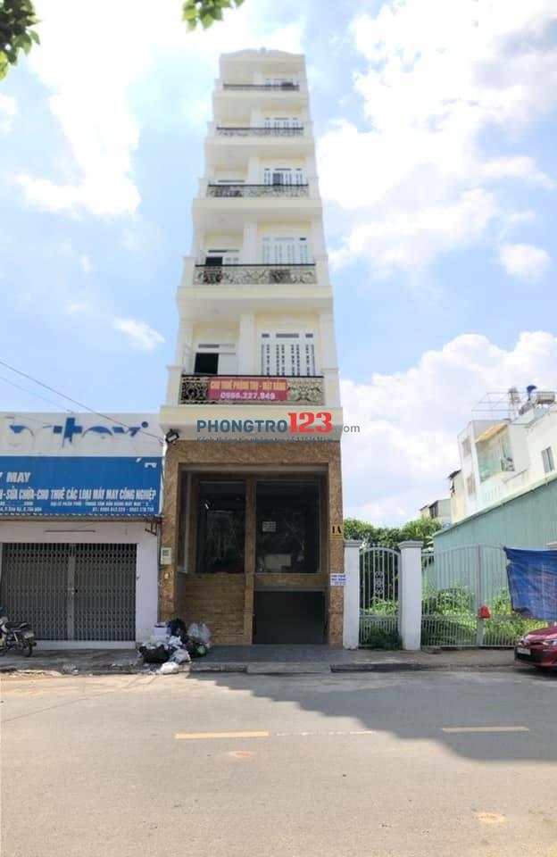 Khai trương phòng trọ mới tinh ở trung tâm quận Tân Phú