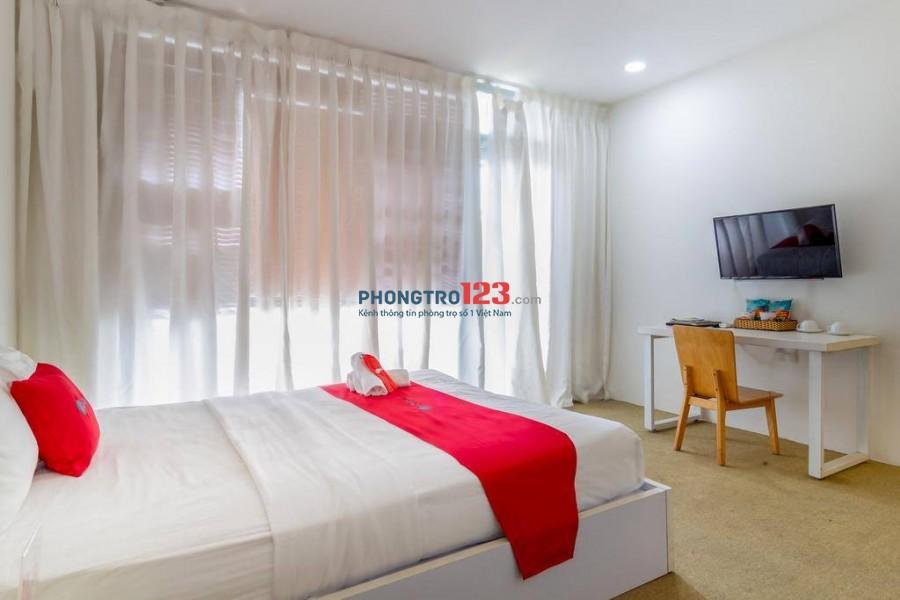 Phòng Full nội thất diện tích 20m2 Nguyễn Thái Học Quận 1