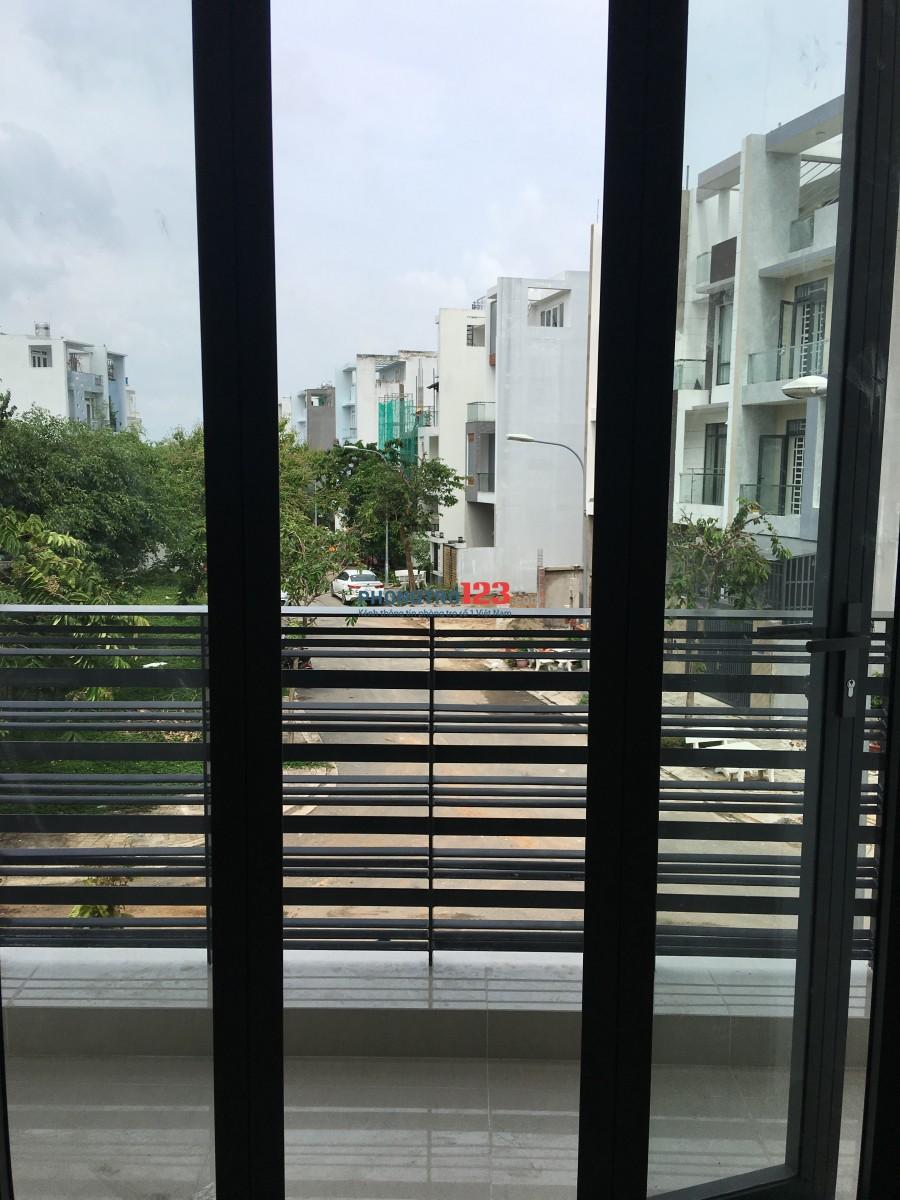Cho thuê phòng trọ 35m2, mới xây, ở liền, nội thất cao cấp, thiết kế hiện đại