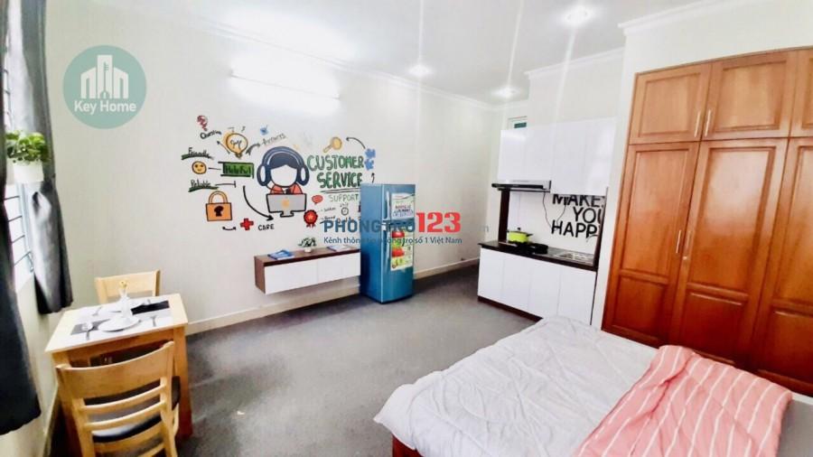 Phòng trọ Quận 7, có nội thất, có bếp, phong cách teen