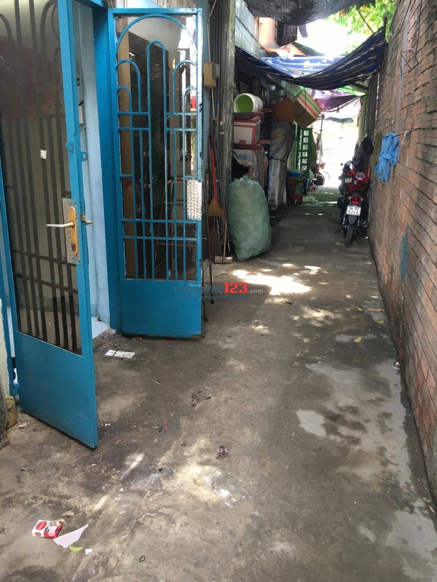 Cho thuê phòng trọ có gác 3*4 tại Tây Thạnh Quận Tân Phú. Giá 2,5 triệu/tháng