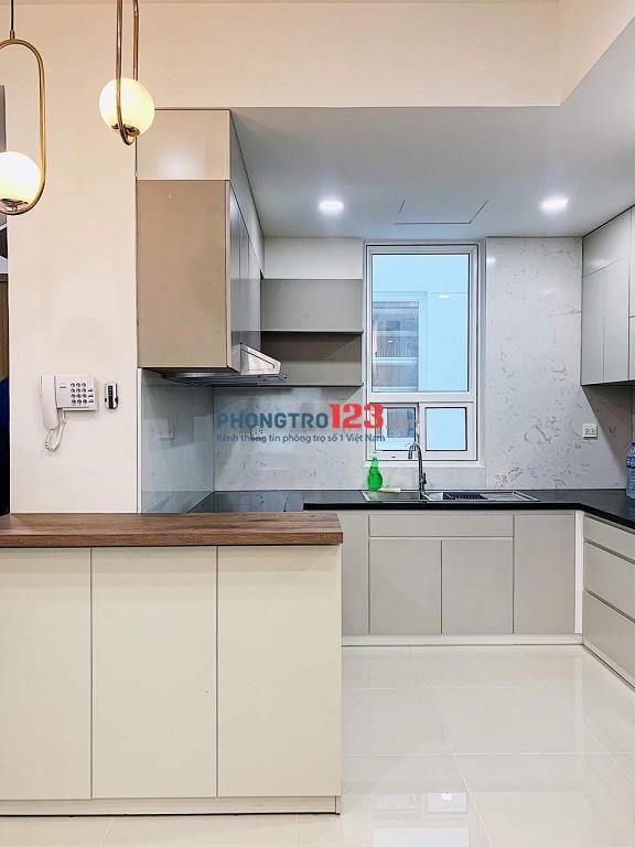 Phòng lớn 45m2, ban công full NT, 1PN riêng, bếp sinh hoạt riêng, có thang máy Cô Giang Q1, giá 6,5tr