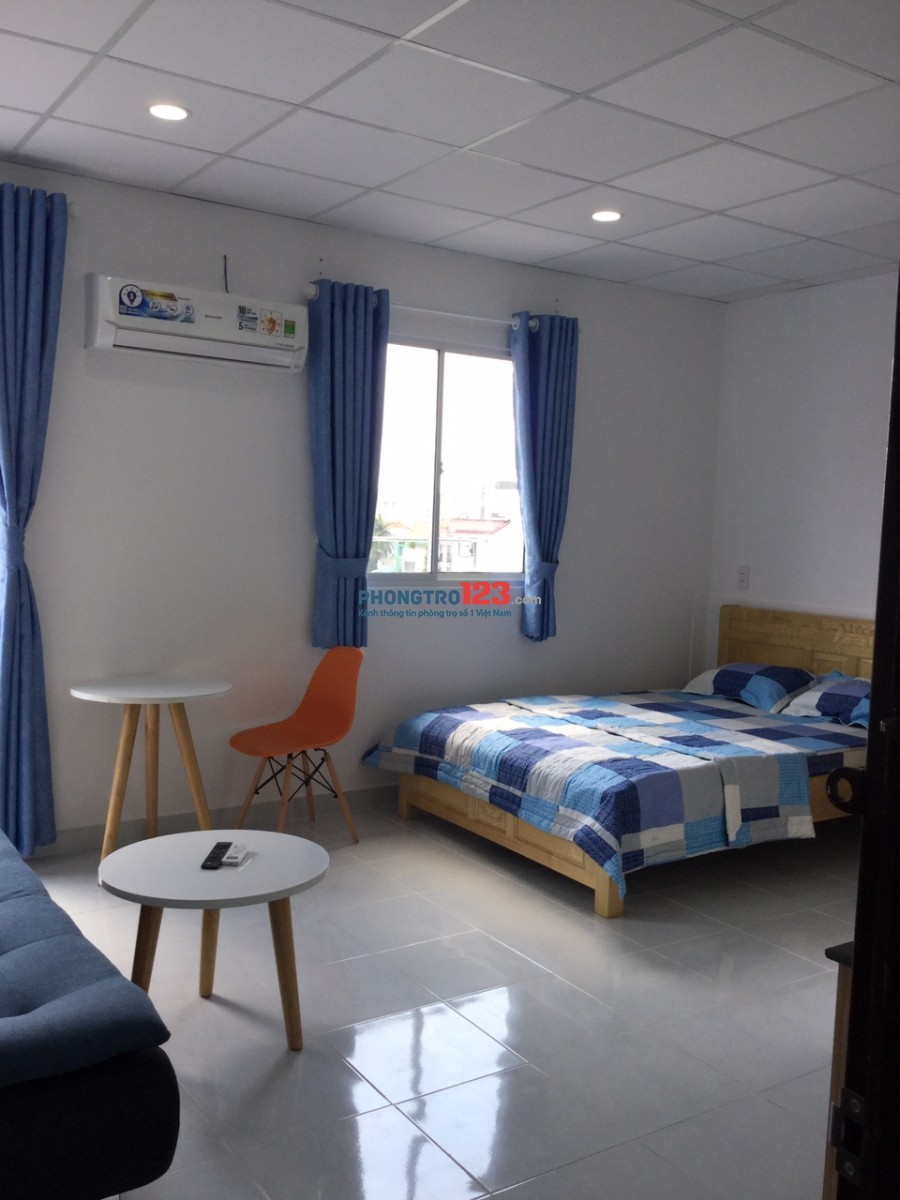 Phòng 20m2 full tiện nghi, balcon thoáng đường Ung Văn Khiêm, BT. Giá 4.5 tr/tháng