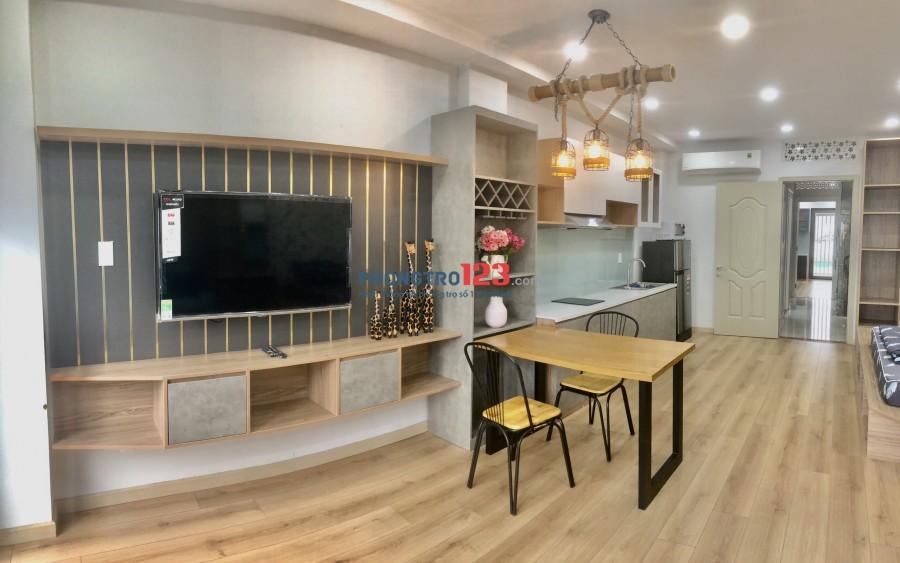 Căn Hộ Studio Diện Tích Từ 45m2 Đến 60m2 Trần Quang Diệu, Full NT, Free Dv .