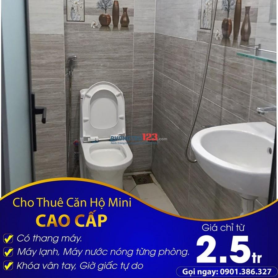 Căn Hộ Mini CAO CẤP MỚI 100% - ngay Aeon Mall Bình Tân - THANG MÁY + MÁY LẠNH + MÁY NƯỚC NÓNG