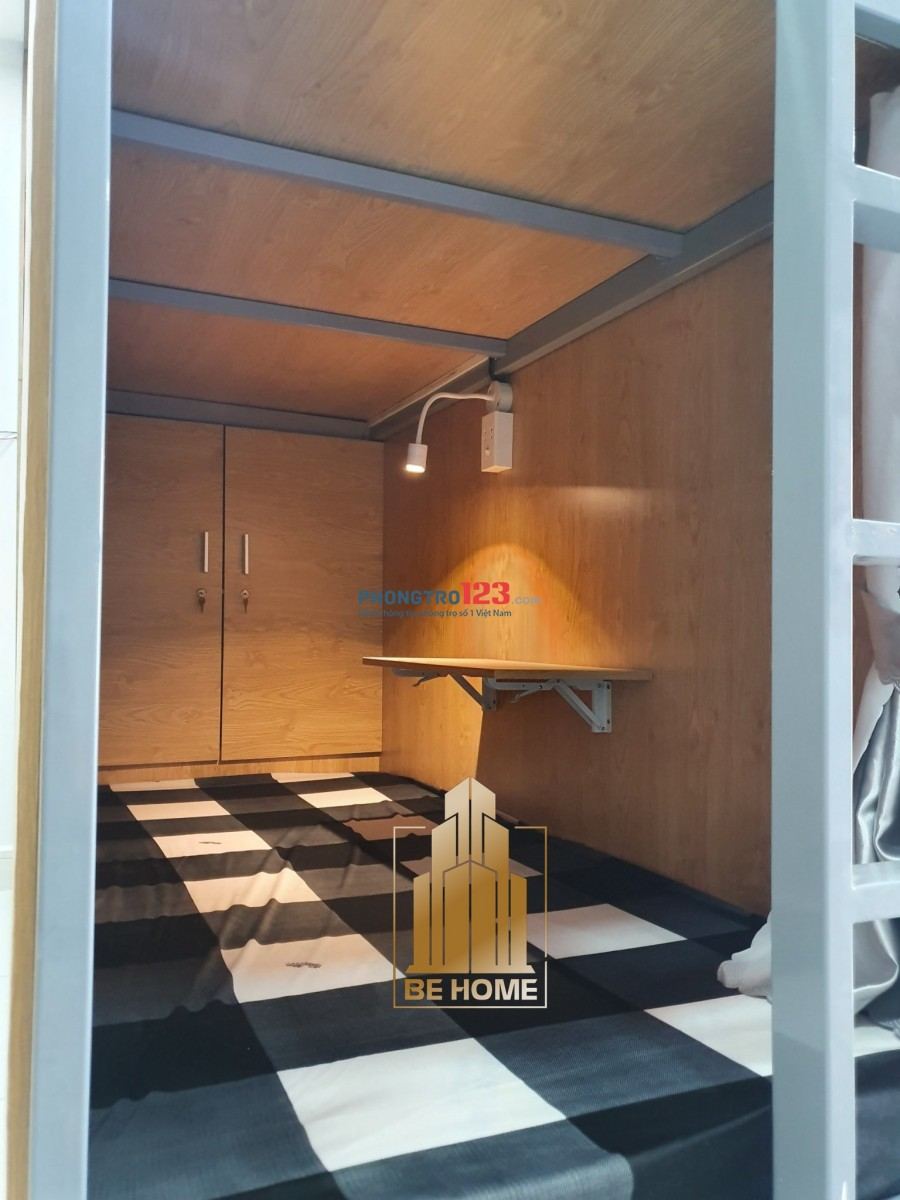 Be Home Sleepbox mới xây đường D2, Ưu đãi lớn đến hết Tháng 8, GIẢM THÁNG ĐẦU TIÊN. Full tiện nghi. Tự do giờ giấc.