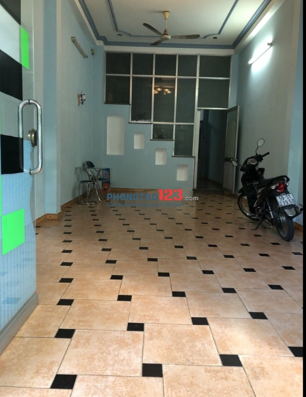 Chính chủ cho thuê mặt bằng kinh doanh mặt tiền 4x10 tại 310 Nguyễn Gia Trí P25 Q Bình Thạnh