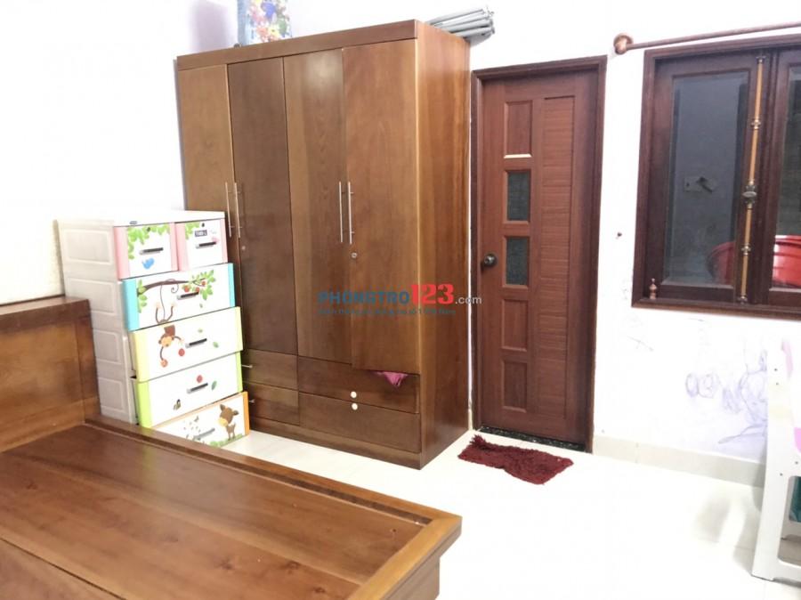 Cho thuê nhà nguyên căn 1 trệt 1 lầu gần chợ Tân Hương số 94/20 Tân Hương P Tân Quý Q Tân Phú