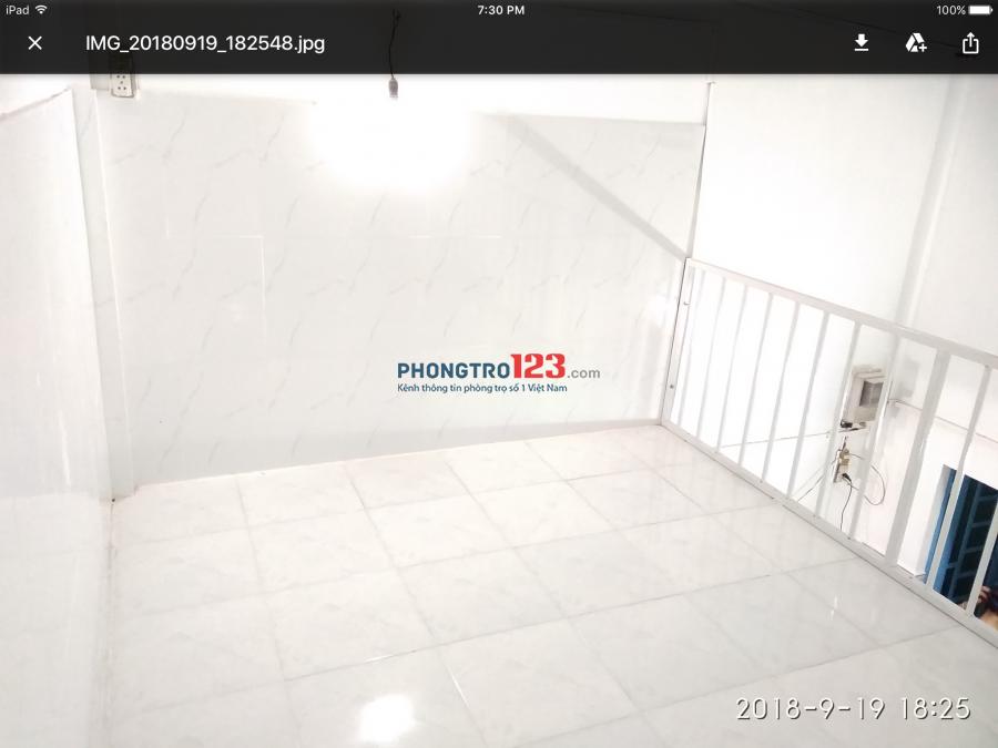 Cho thuê một căn phòng trọ riêng biệt, diện tích 18m² ở Quận Bình Thạnh